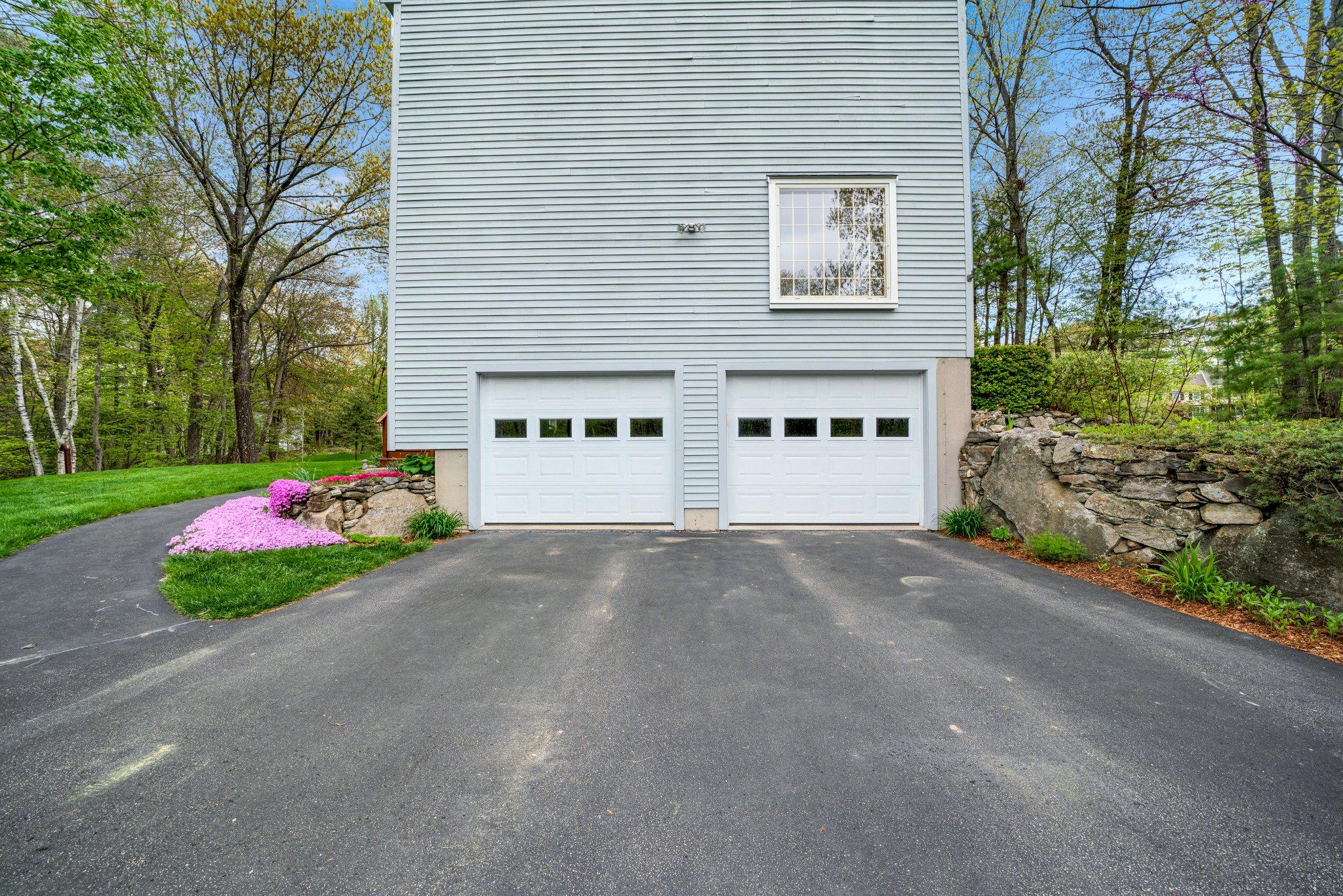 Built-in garage