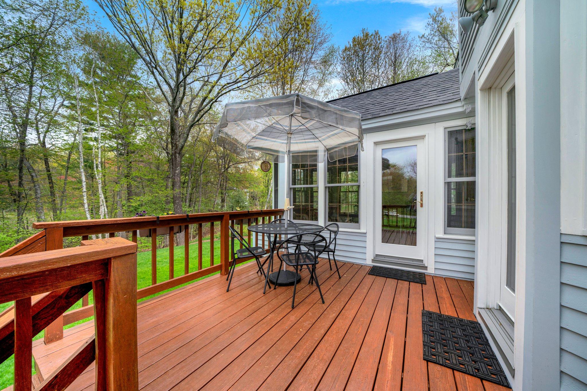 Deck/Porch entrance