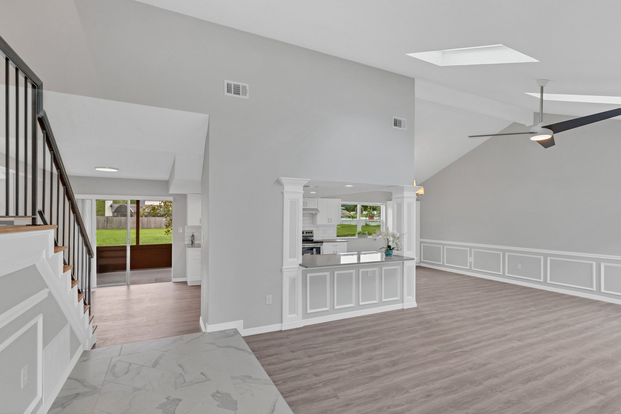 You'll fall in love with this OPEN CONCEPT DESIGN!