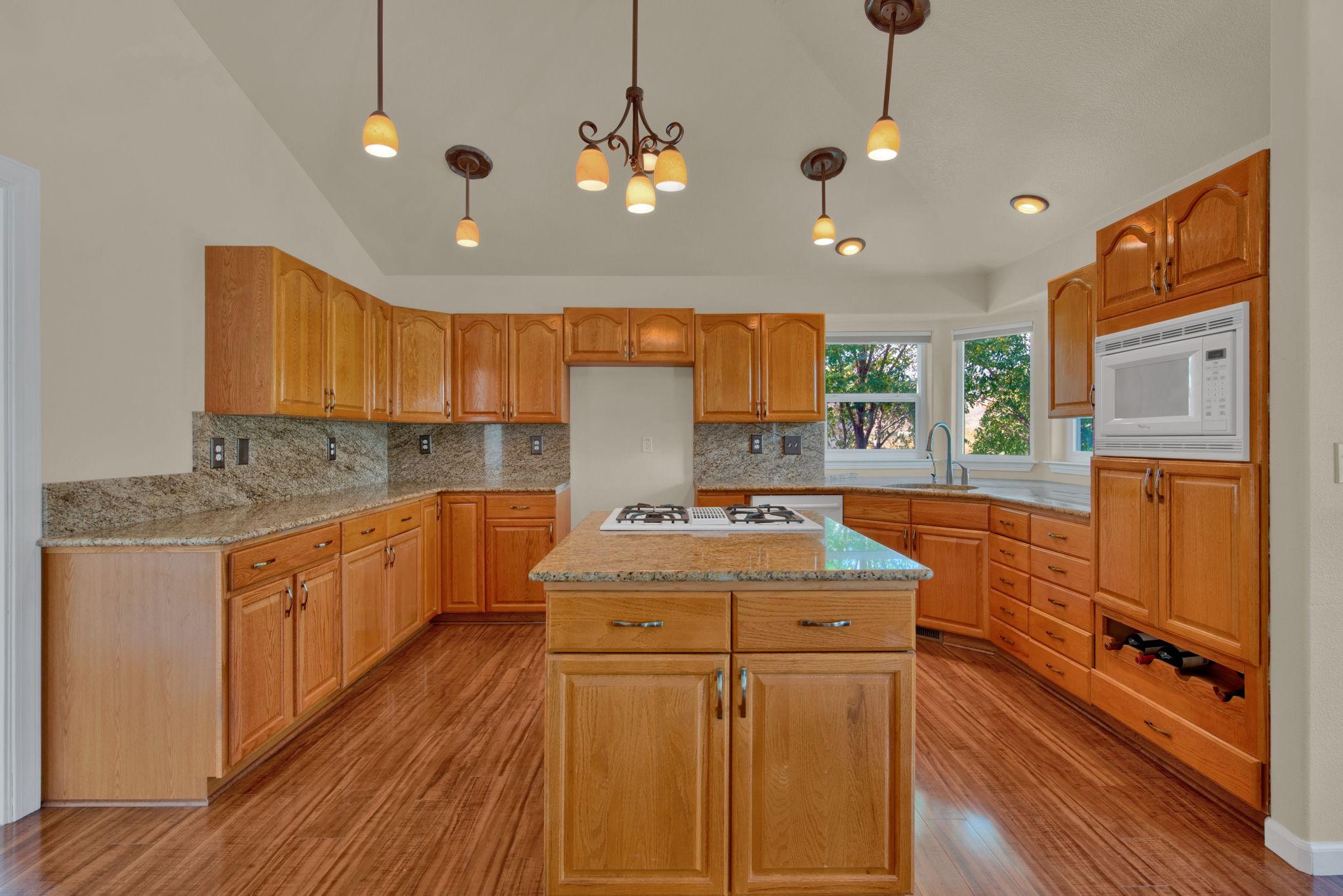 Straight Kitchen View