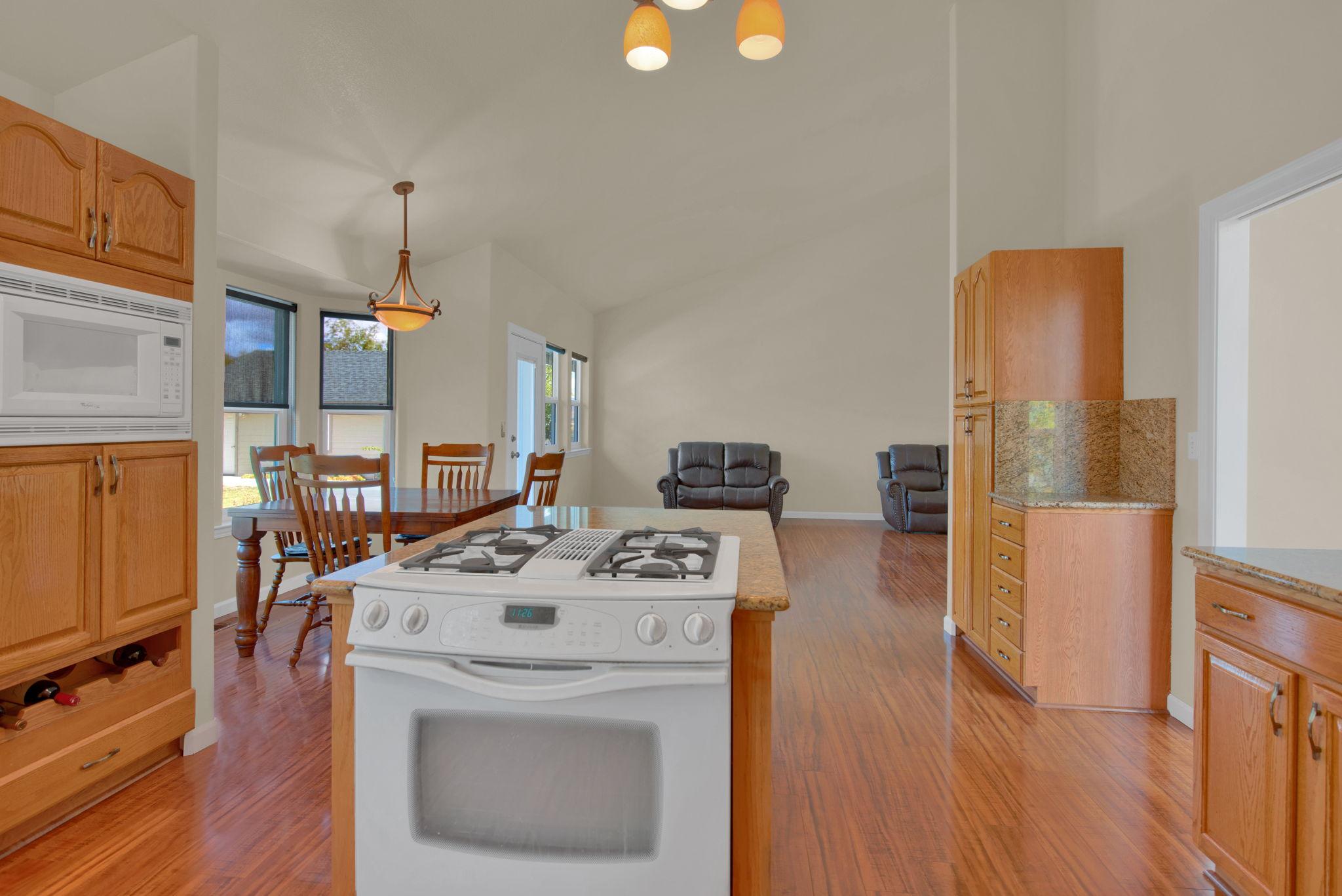 Kitchen nook towards Great Room