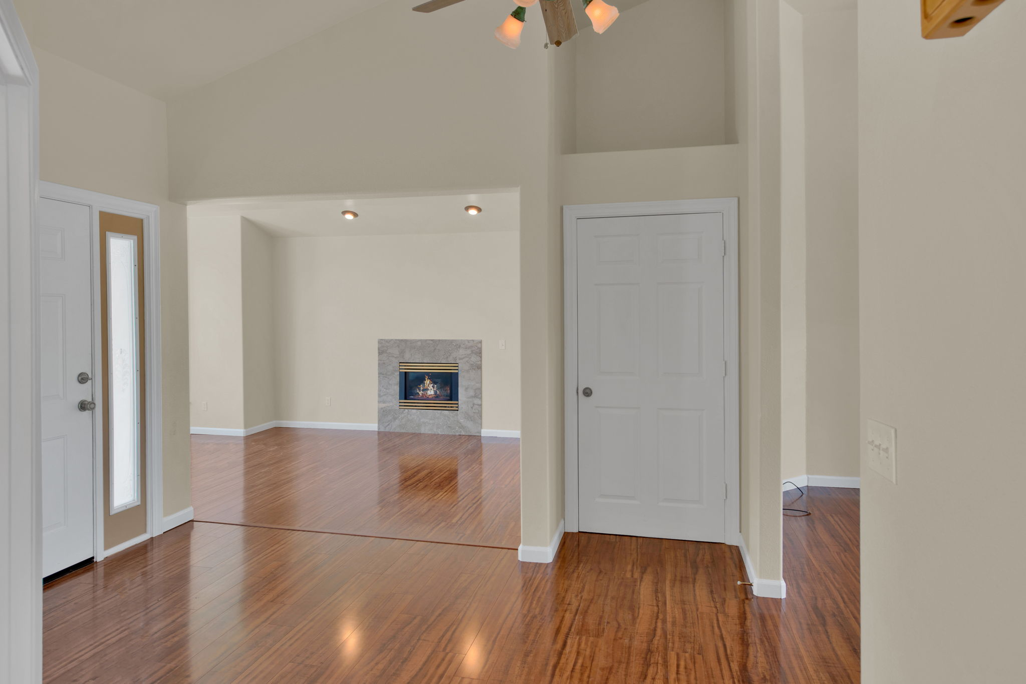Grand Entry to Family Room