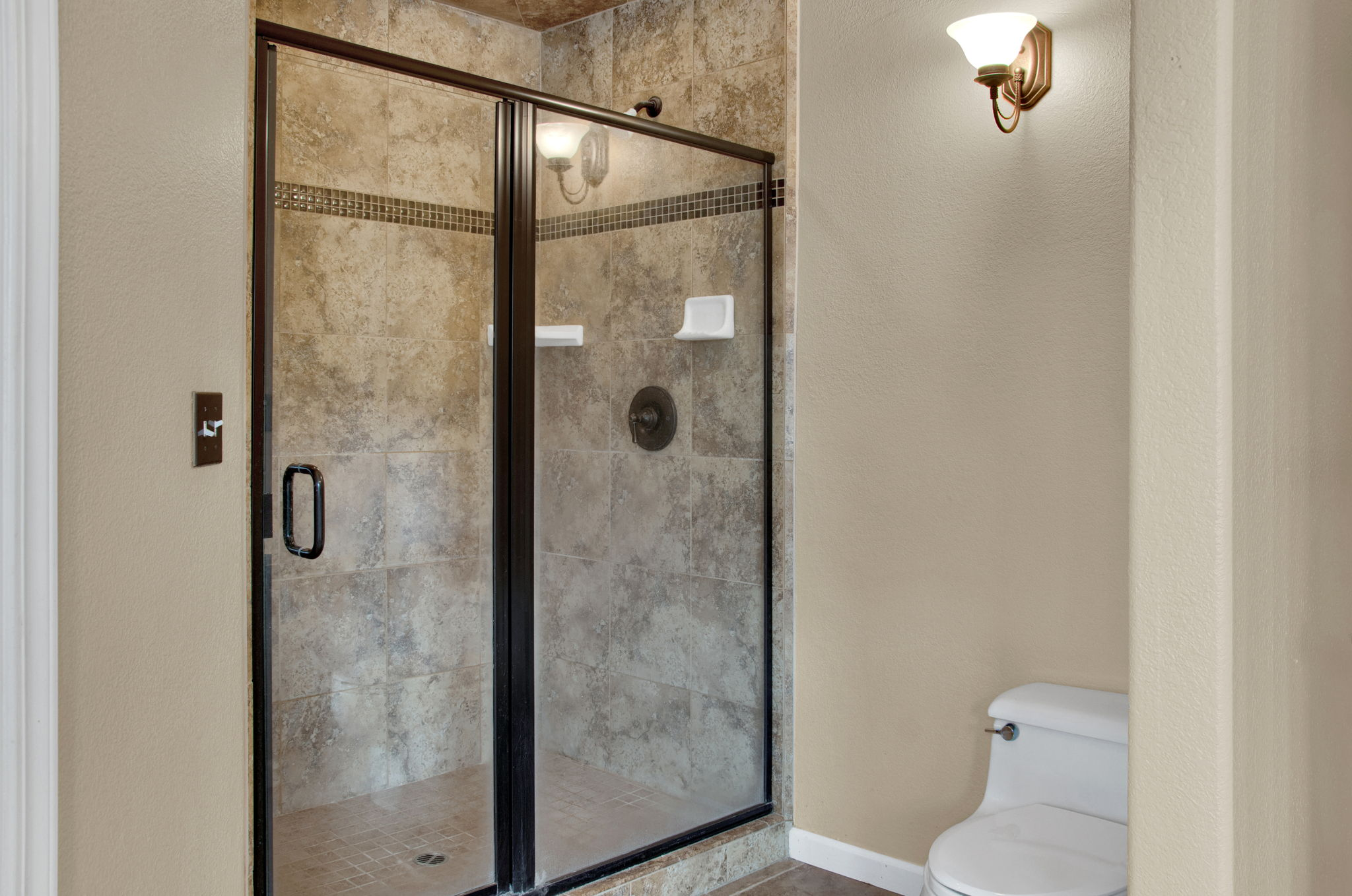 Master Bedroom Shower and