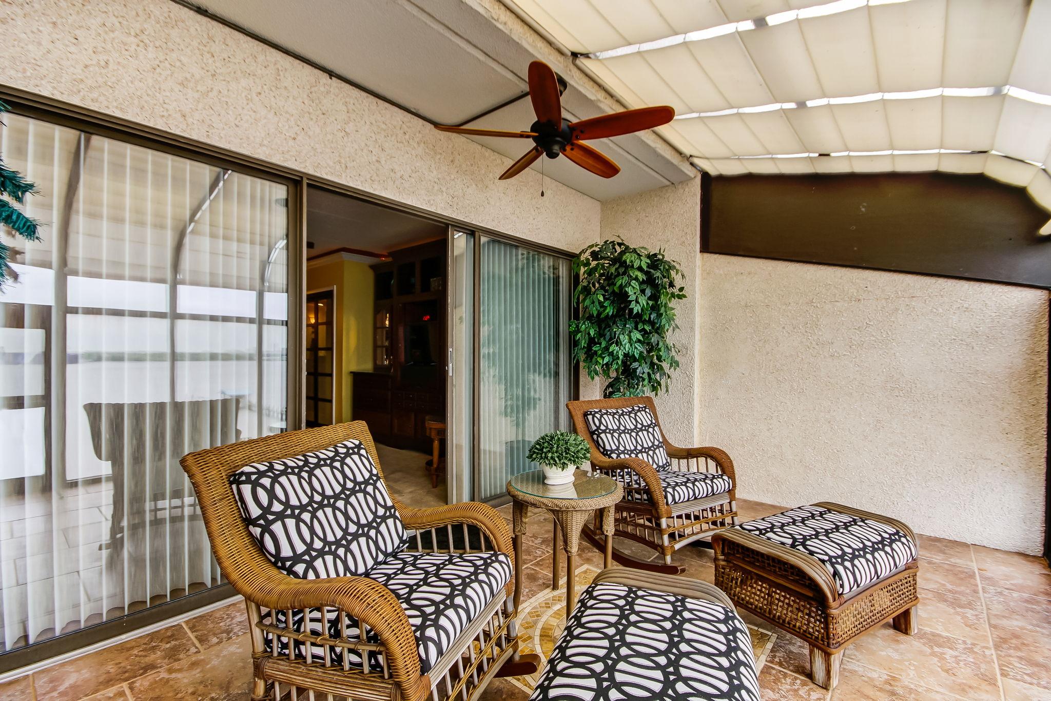 Master Bedroom Sun Porch