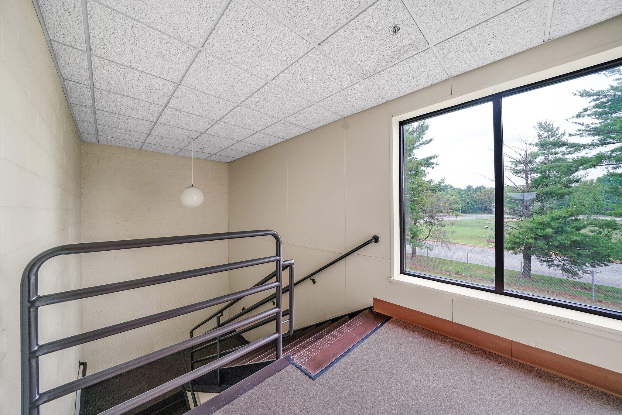 Rear stairwell