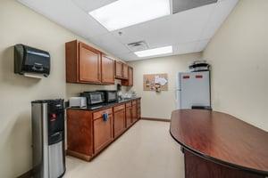 Break room, kitchen