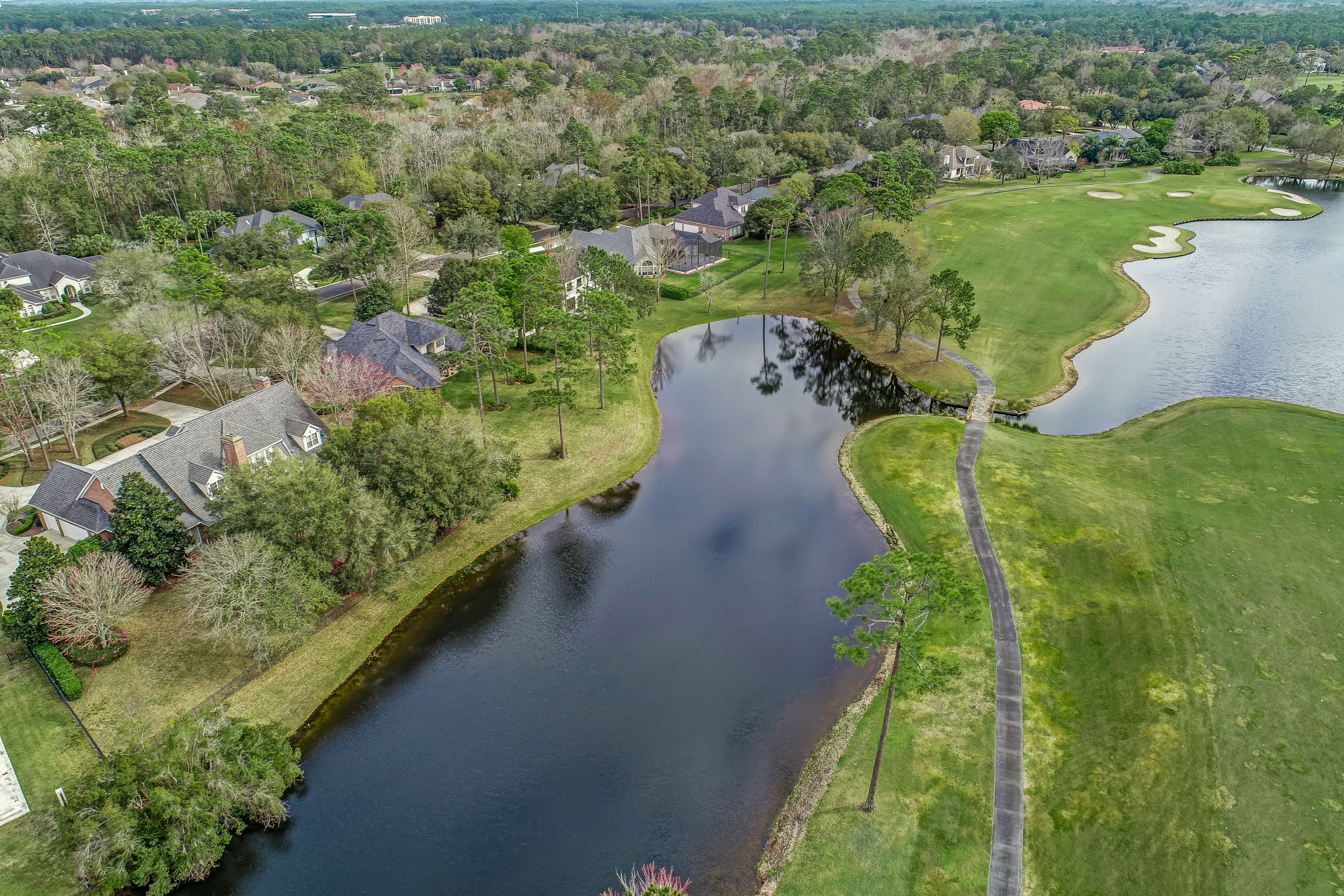 4538 Swilcan Bridge Ln N Aerial View