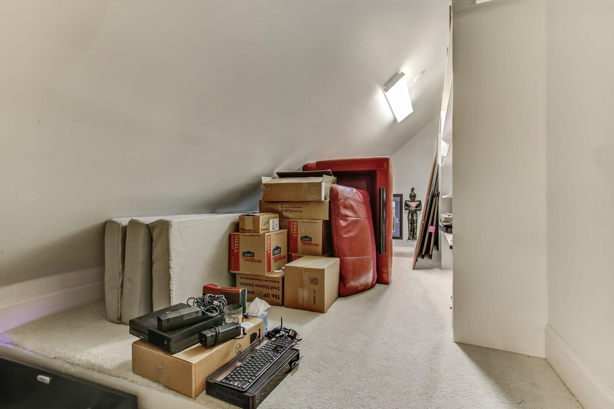 Conditioned Storage area