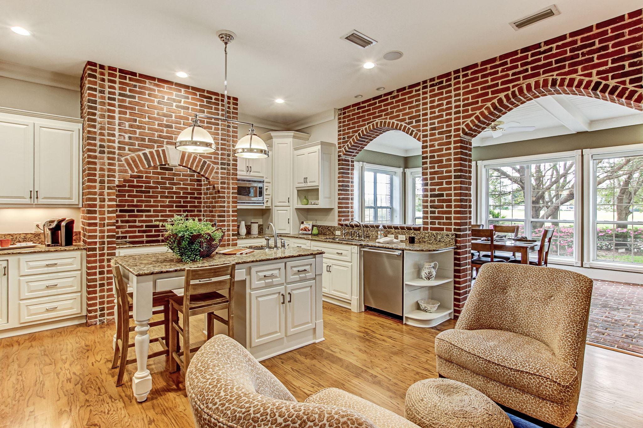 Kitchen & Adjacent Sunroom