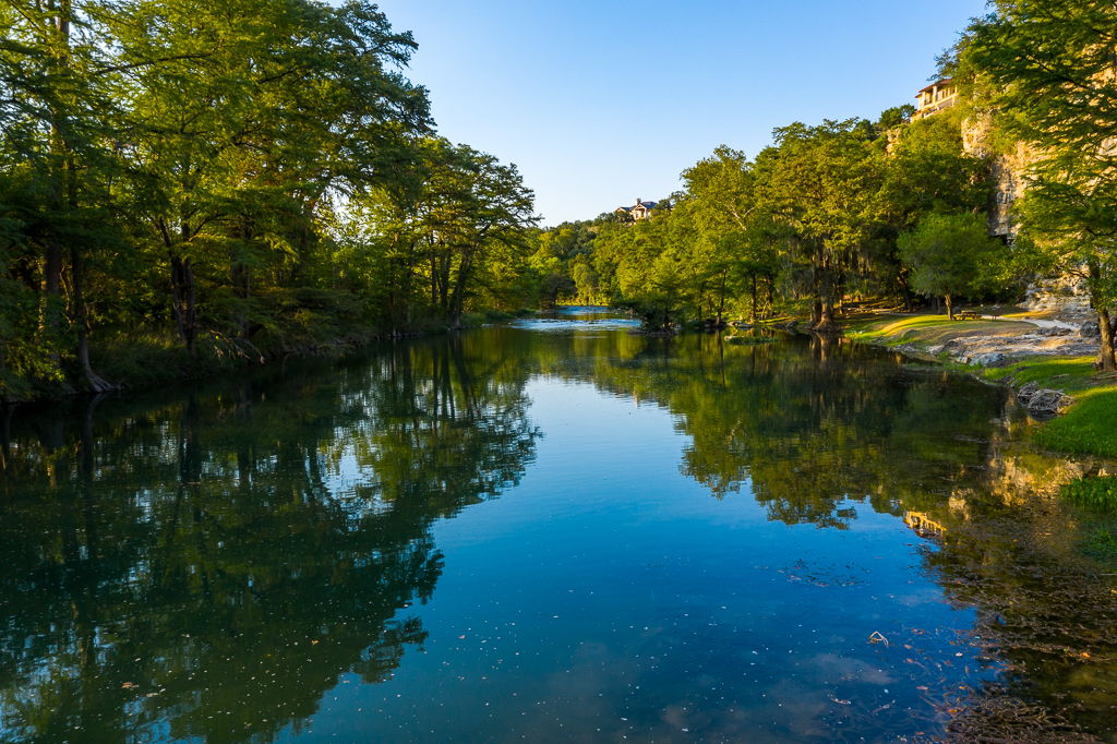 View of Nearby Guadalupe RIver