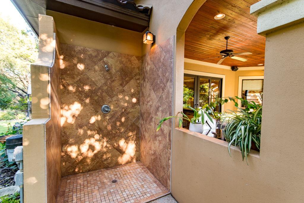 Outdoor Pool Shower