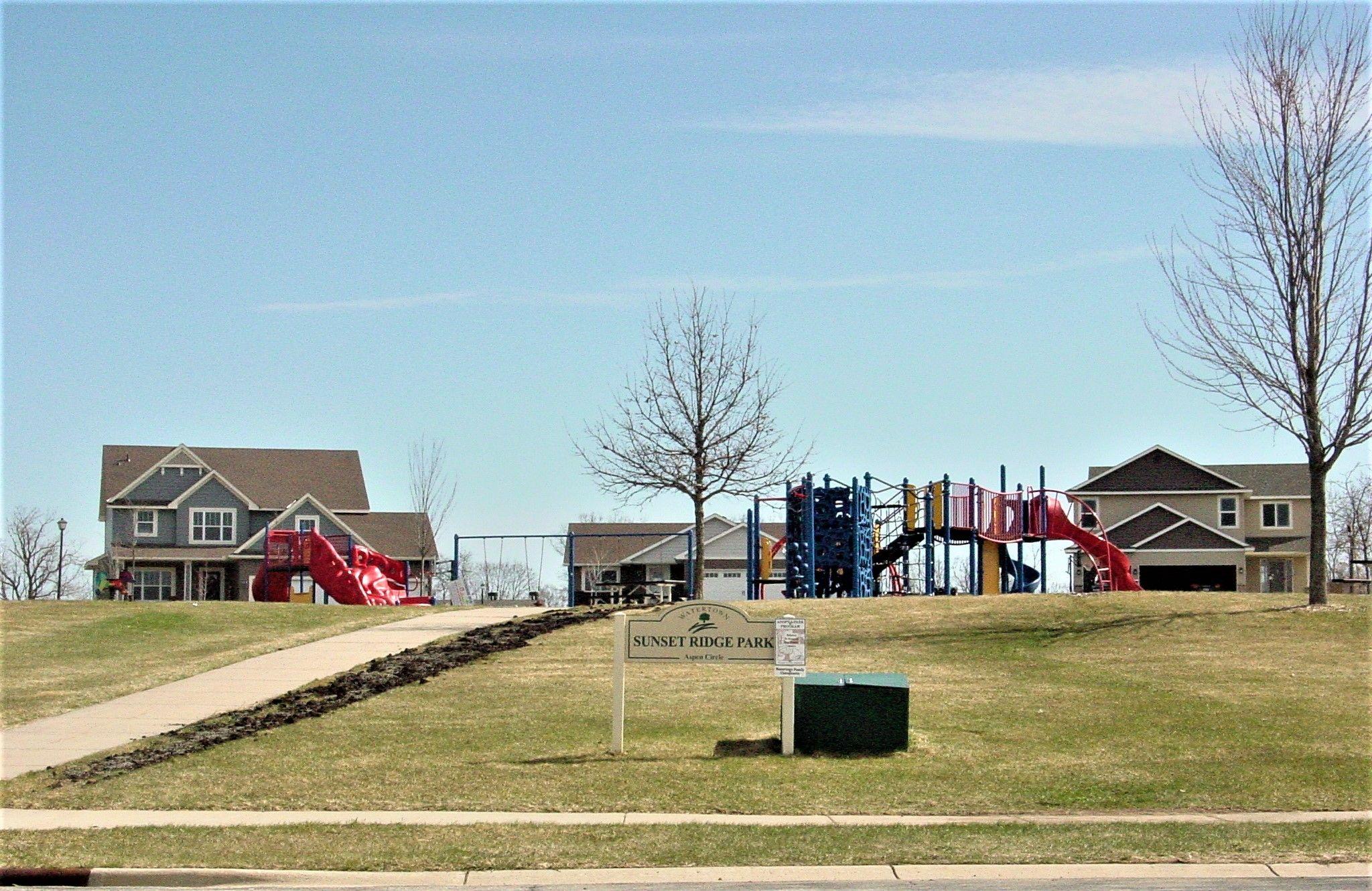 Convenient Neighborhood Park just blocks away