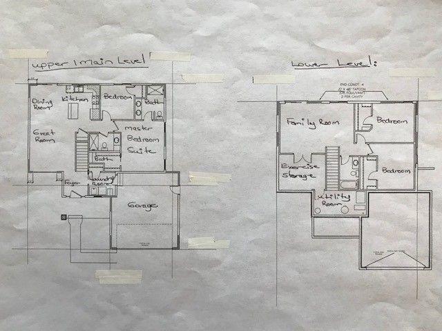 Main &  Lower Level Floorplan