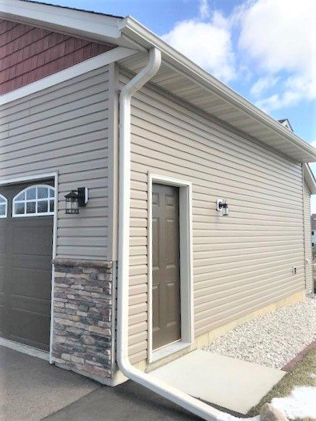 Convenient Garage service door
