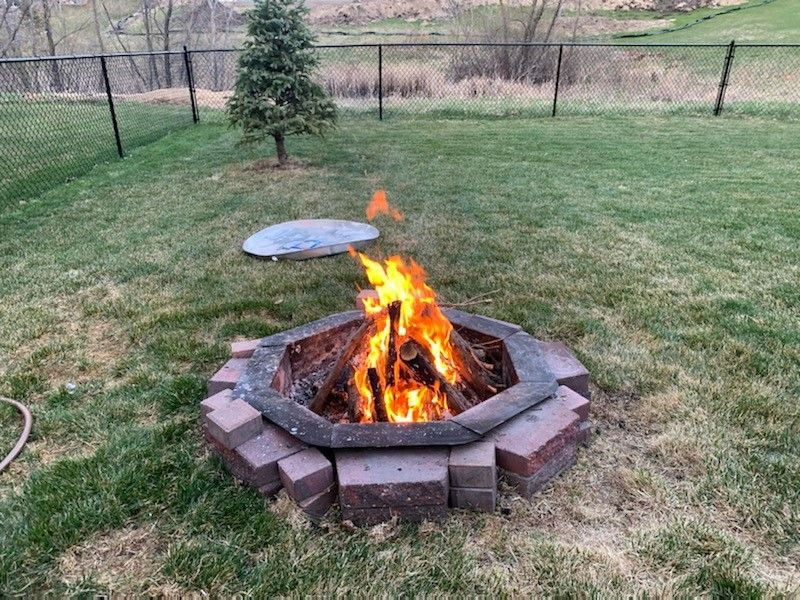Relax & Enjoy a Crackling Fire in your totally fenced backyard